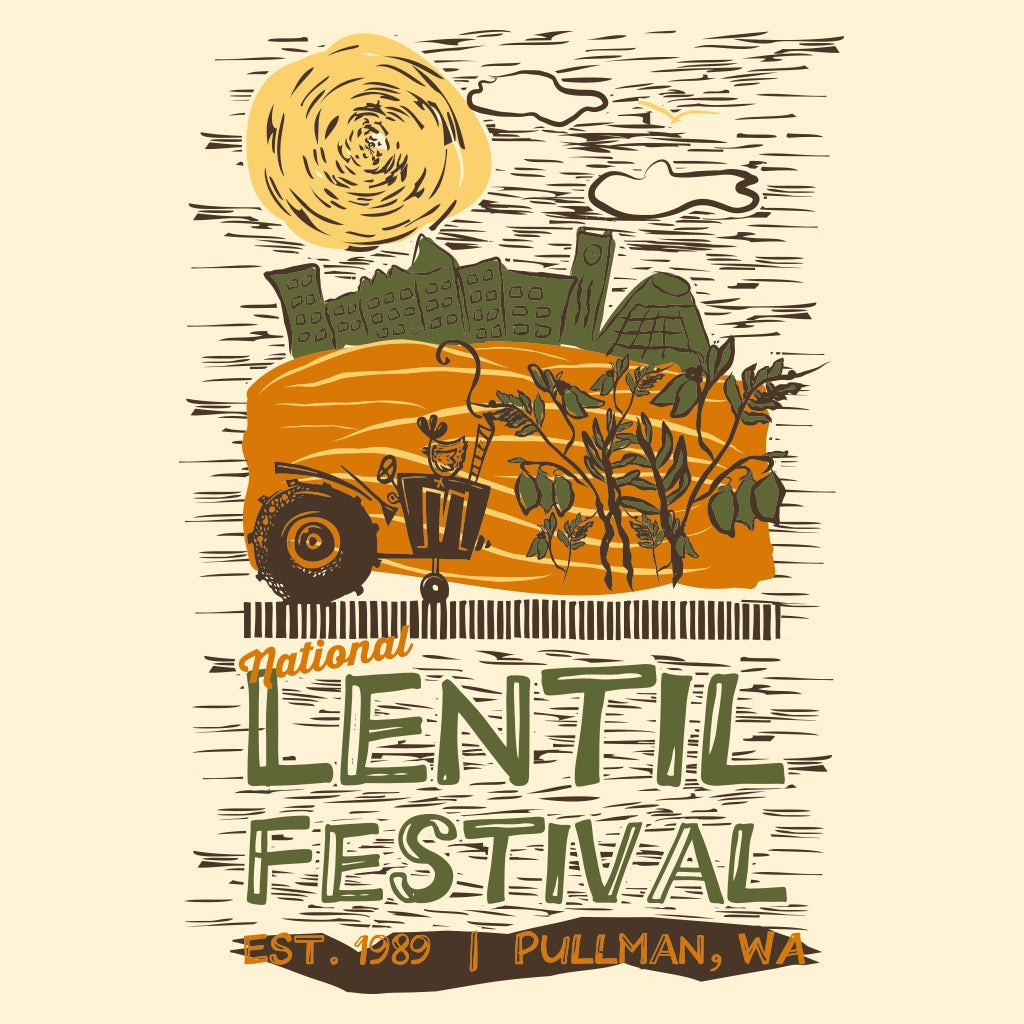 Pullman Chamber of Commerce Lentil Festival Design