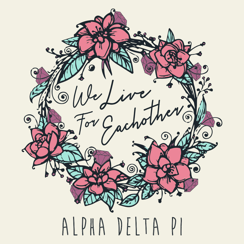 Alpha Delta Pi Mom's Weekend Floral Design
