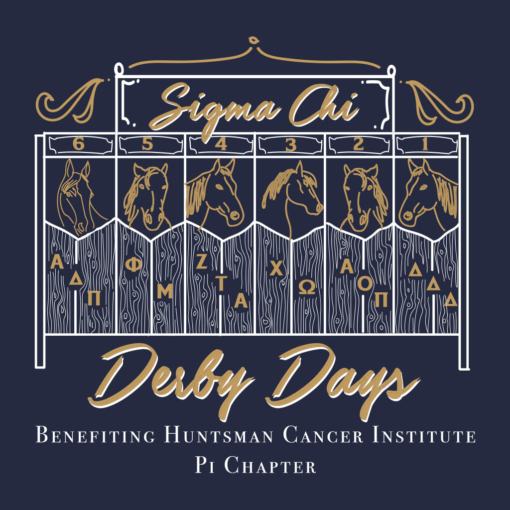 Sigma Chi Derby Days Stable Design
