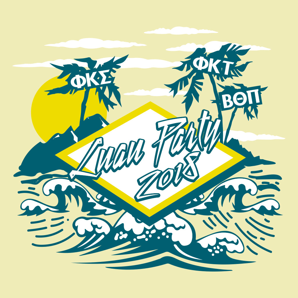 Triad Tropical Luau Design