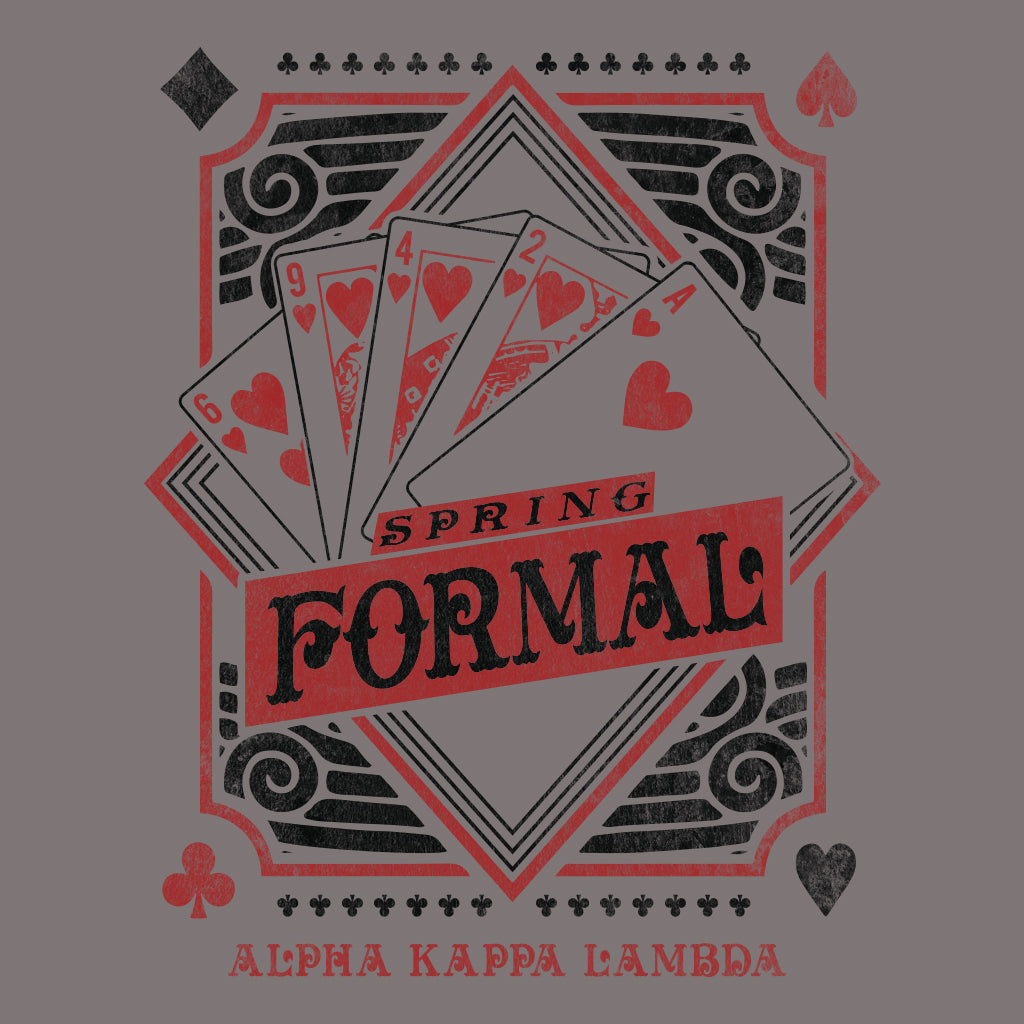 Alpha Kappa Lambda Poker Spring Formal Design