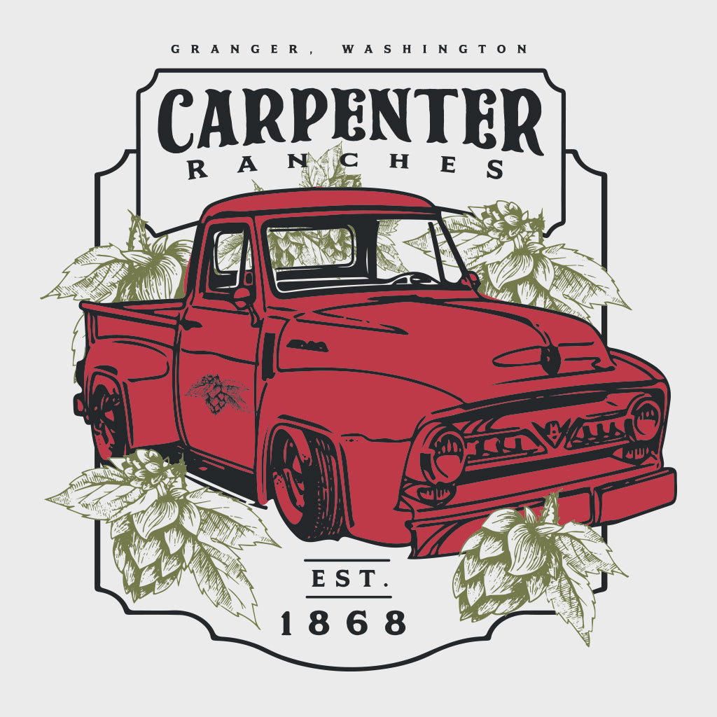 Carpenter Ranches Vintage Truck Design