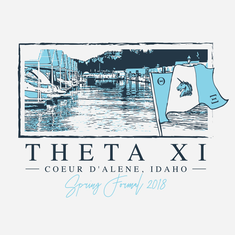 Theta Chi Spring Formal Lake Design