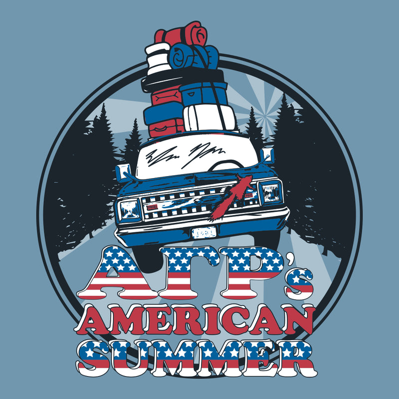 Alpha Gamma Rho's American Summer Design