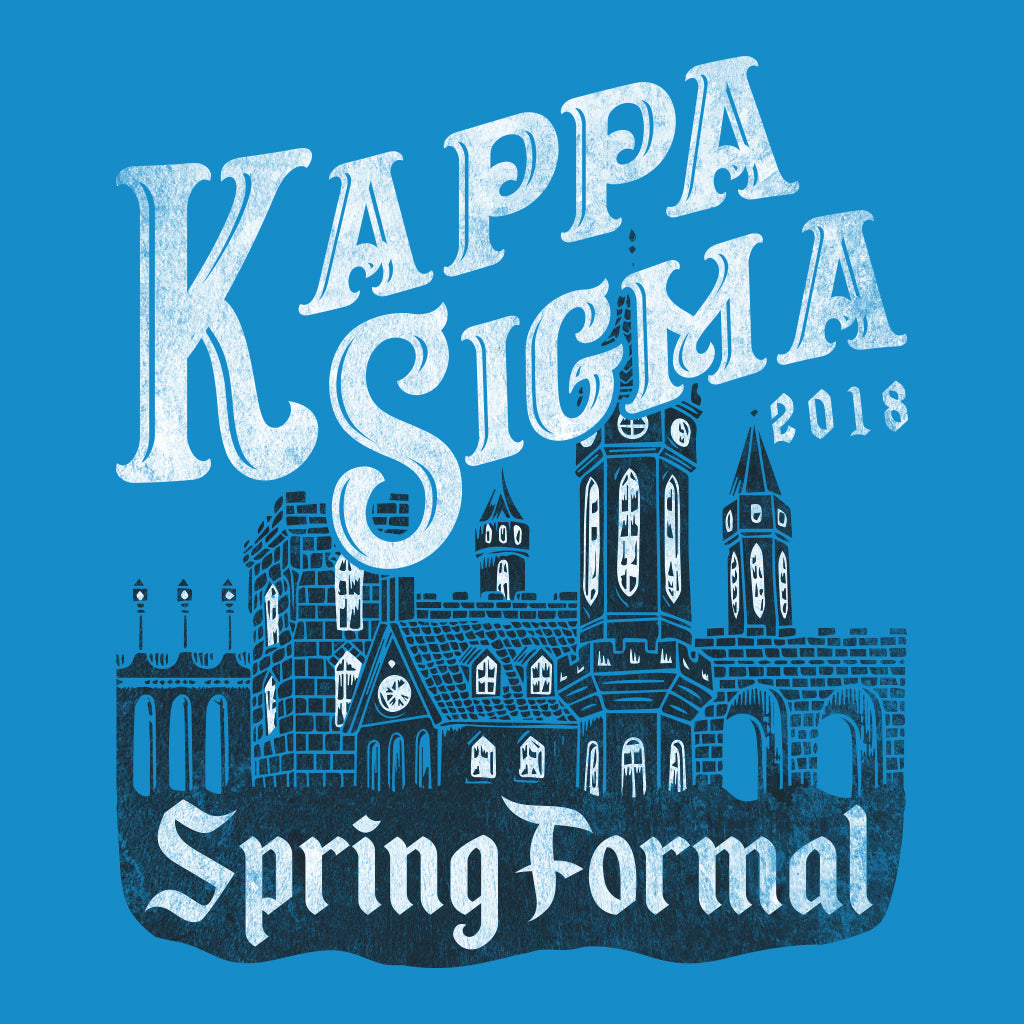 Kappa Sigma Spring Formal Castle Design