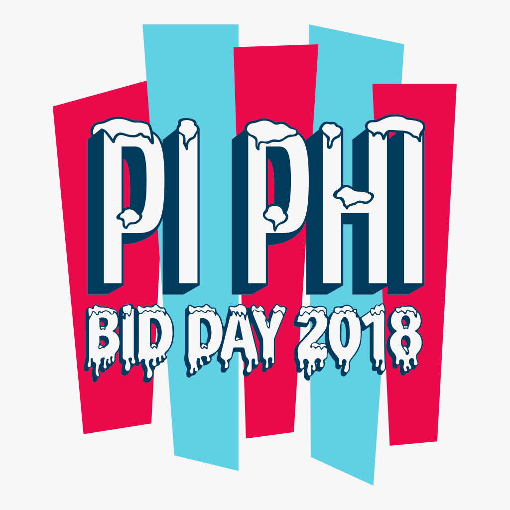 Pi Beta Phi Bid Day Design