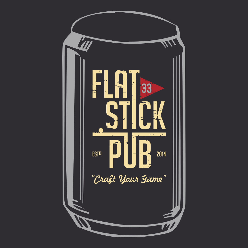 "Flatstick Pub Beer Club ""33"" Design"