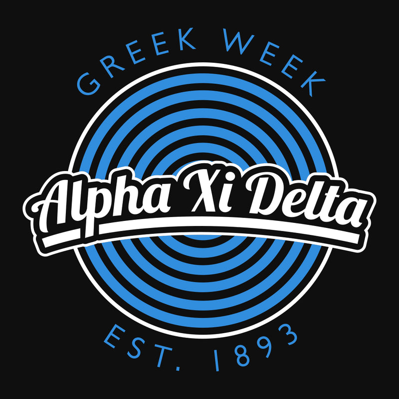 Alpha Xi Delta Greek Week Design