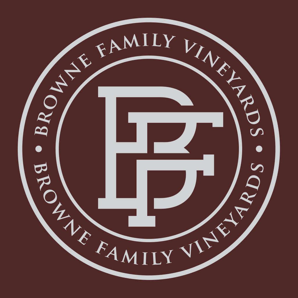Browne Family Vineyard Badge Design