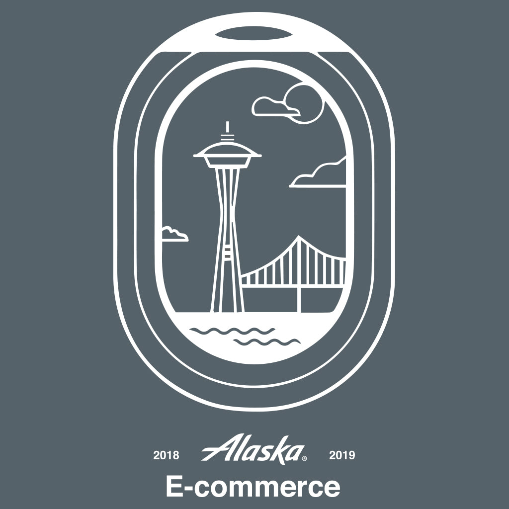 Alaska Airlines Annual E-Commerce Design
