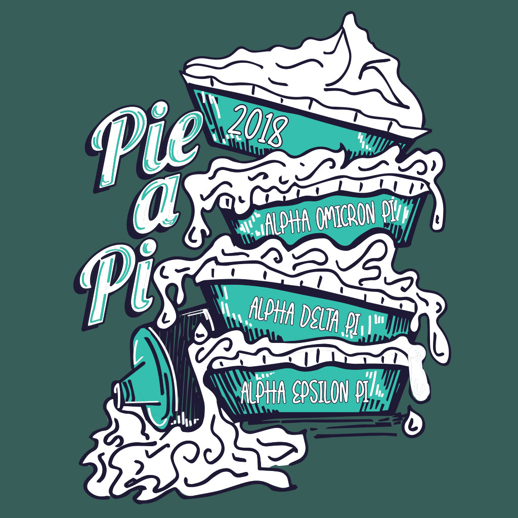 Pi A Pie Philanthropy Design