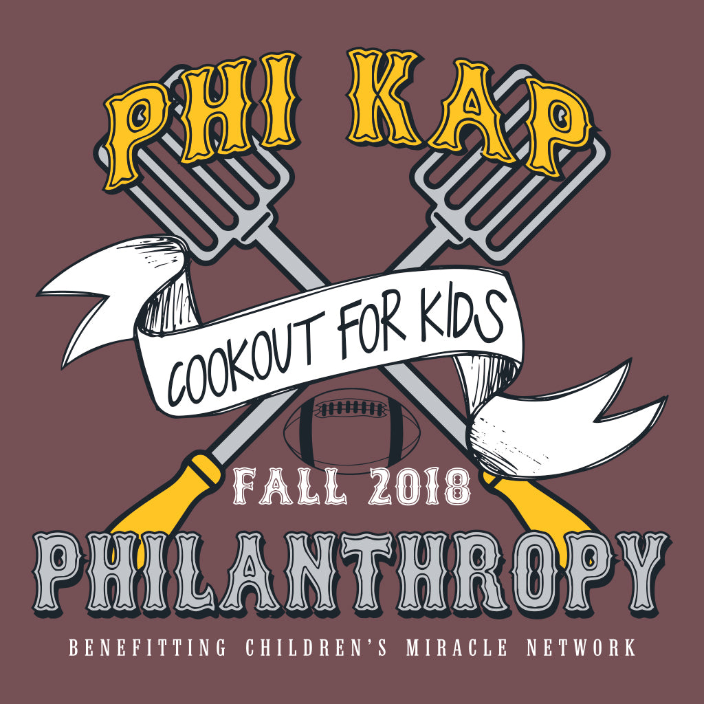Phi Kap Cookout for Kids Design