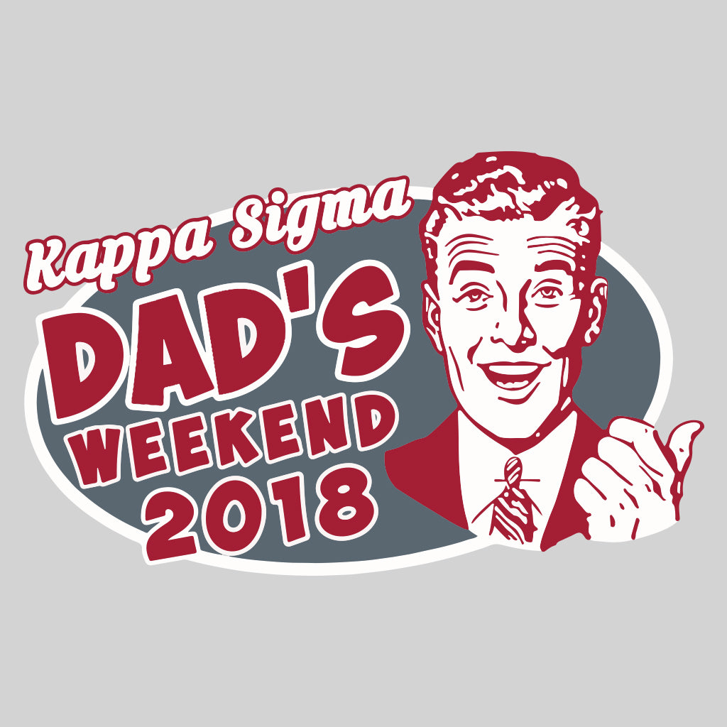 Kappa Sigma Retro Dad's Weekend Design