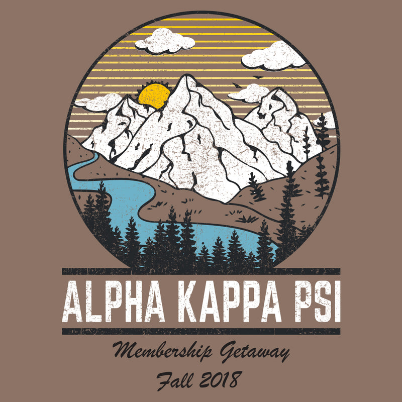 Alpha Kappa Psi Mountain Membership Retreat Design