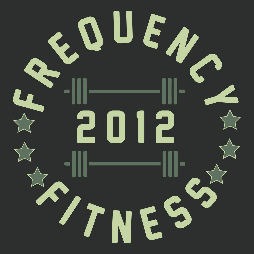 Frequency Fitness Circular Badge Design