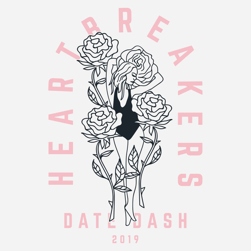 Heartbreakers Valentines Day Date Dash Design