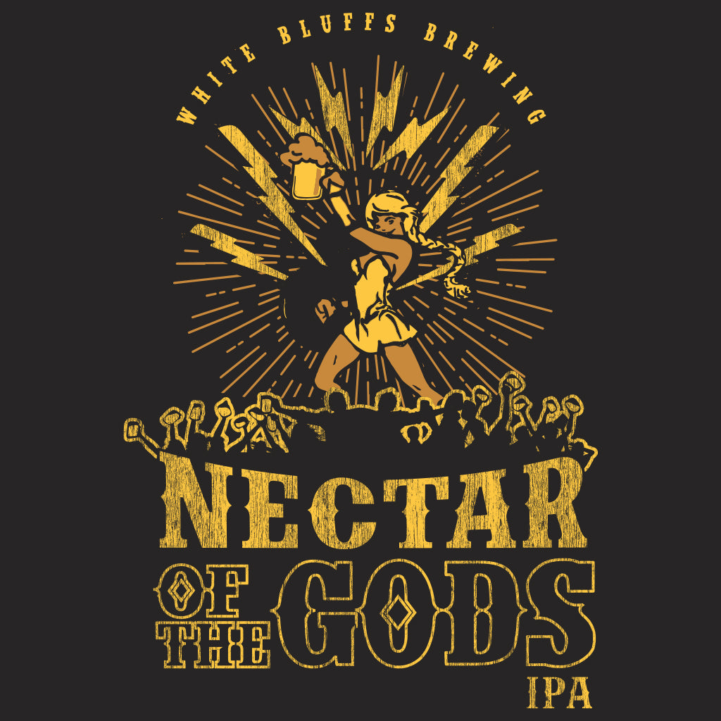 White Bluffs Brewing Co. Nectar of the Gods Design