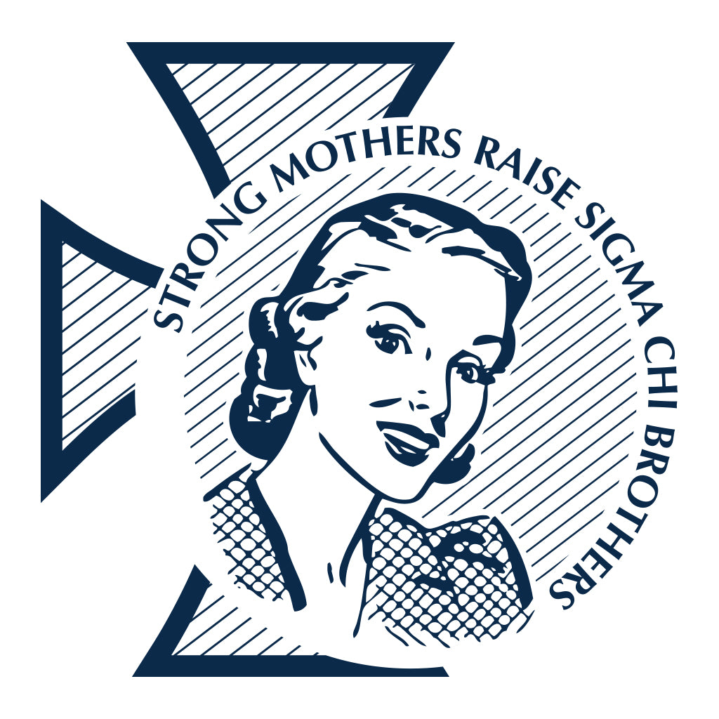 Sigma Chi Retro Mom's Weekend Design