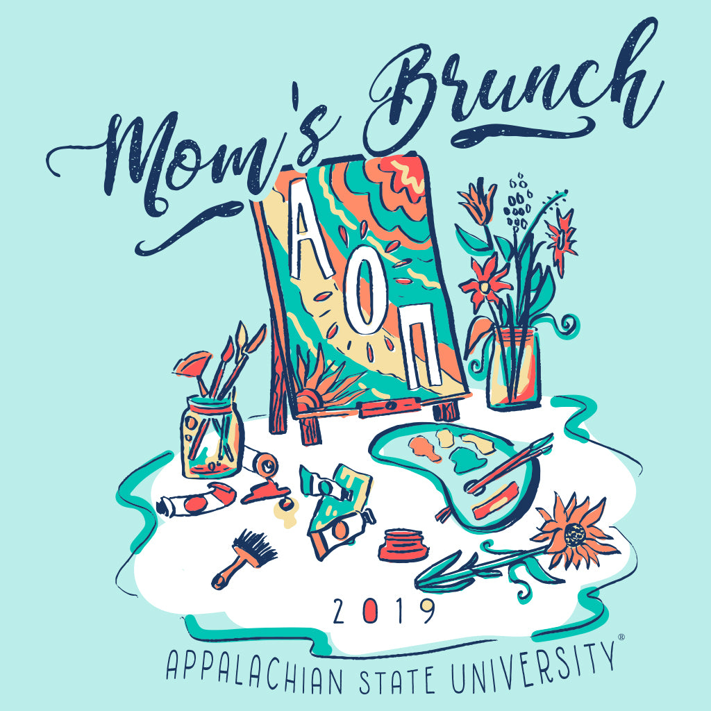 Alpha Omicron Pi Mom's Brunch Design