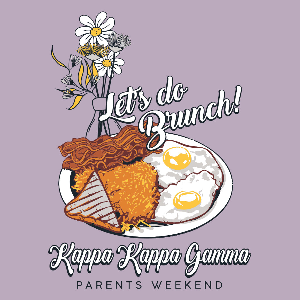 Kappa Kappa Gamma Mom's Weekend Brunch Design