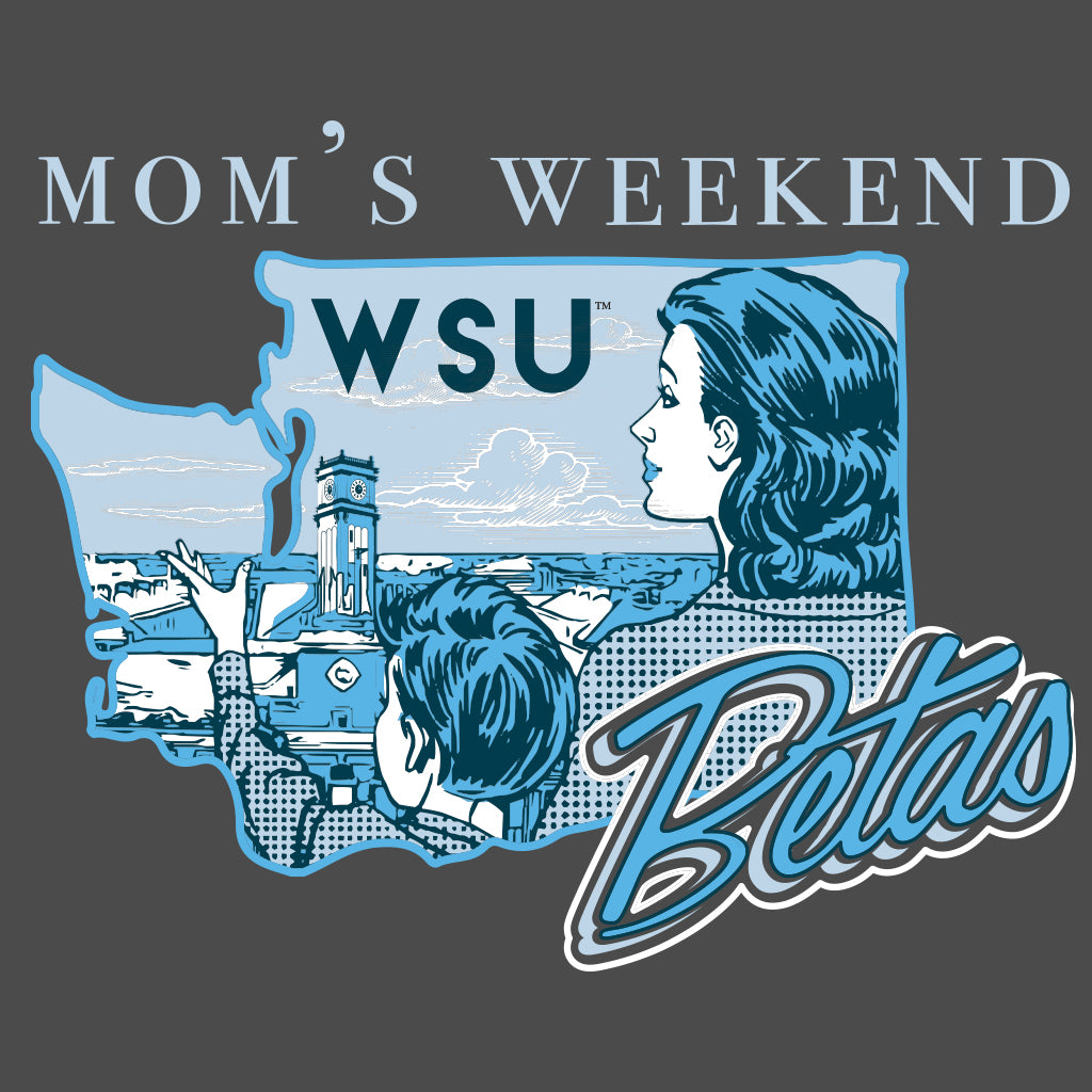 Beta Theta Pi Mom's Weekend Nostalgic Design