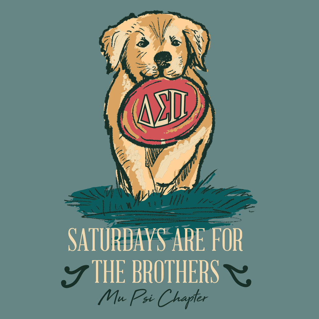 Saturdays are for the Brothers Puppy Design