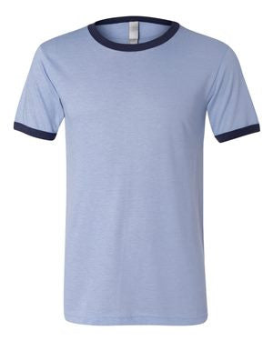 Bella + Canvas - Heather Ringer Jersey Tee  3055 (Available in 7 Colors)
