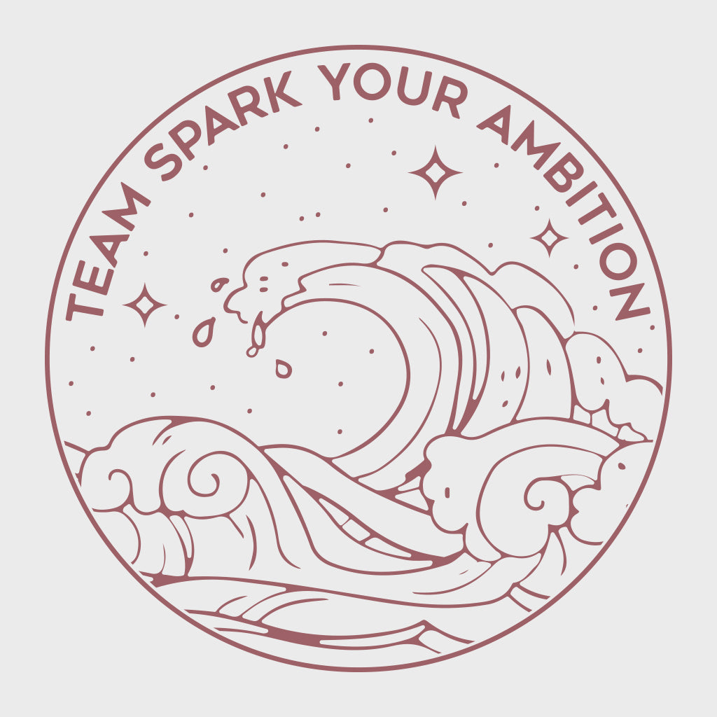 Spark Your Ambition Wave Design