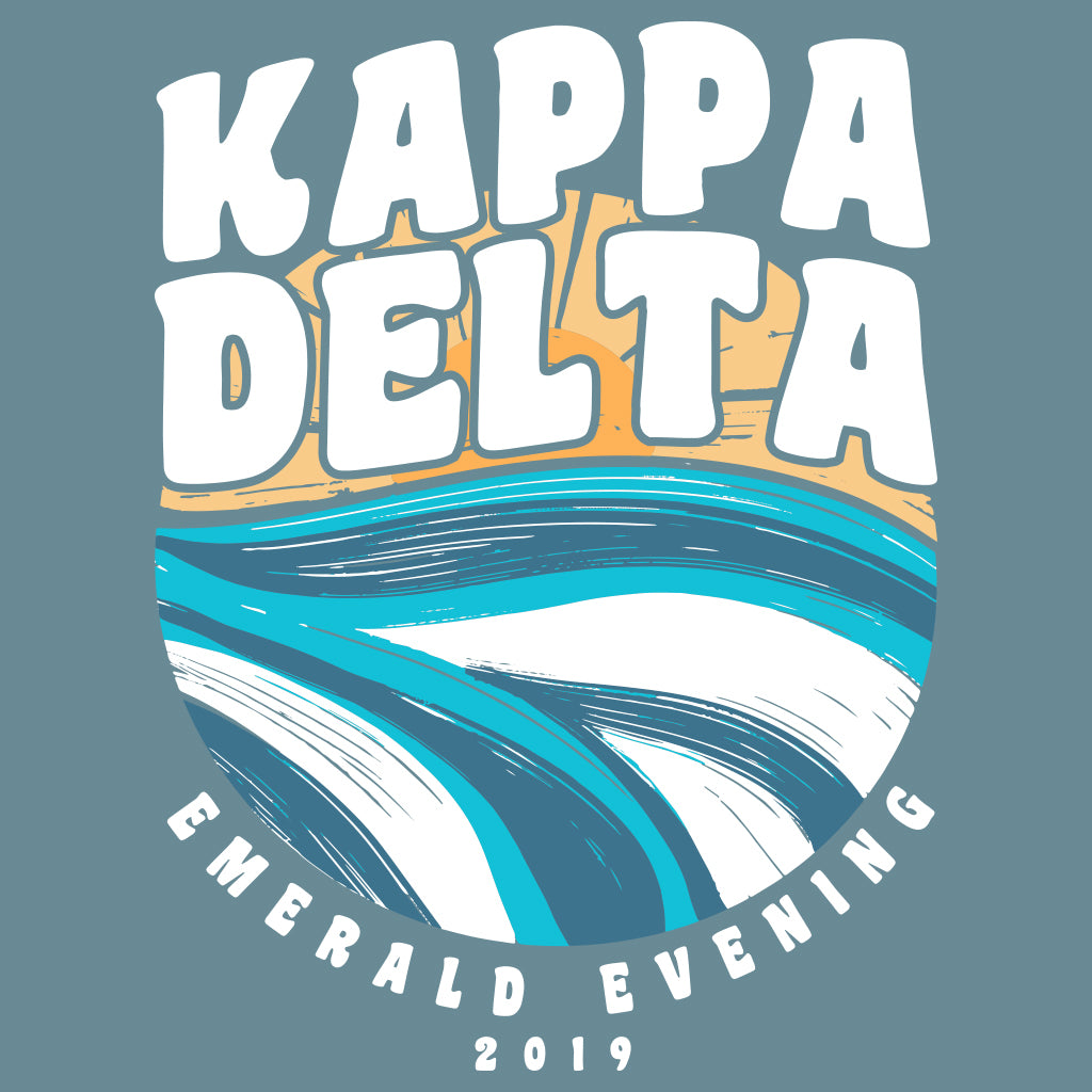 Kappa Delta Emerald Evening Design
