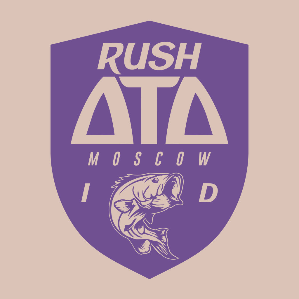 Delta Tau Delta Idaho Fish Design