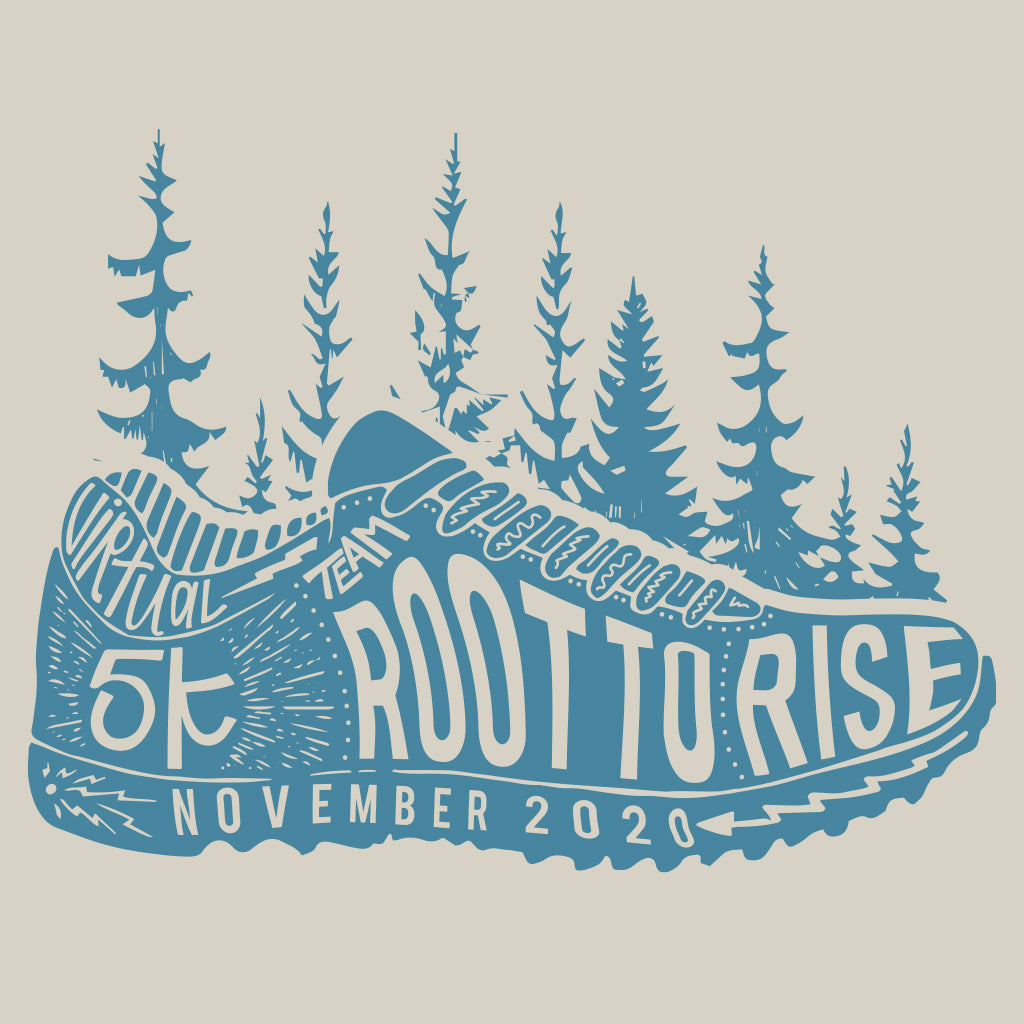 Root to Rise 5k Design