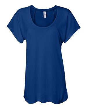 Bella + Canvas  Women's Flowy Raglan Tee  8801 (Available in 6 Colors)