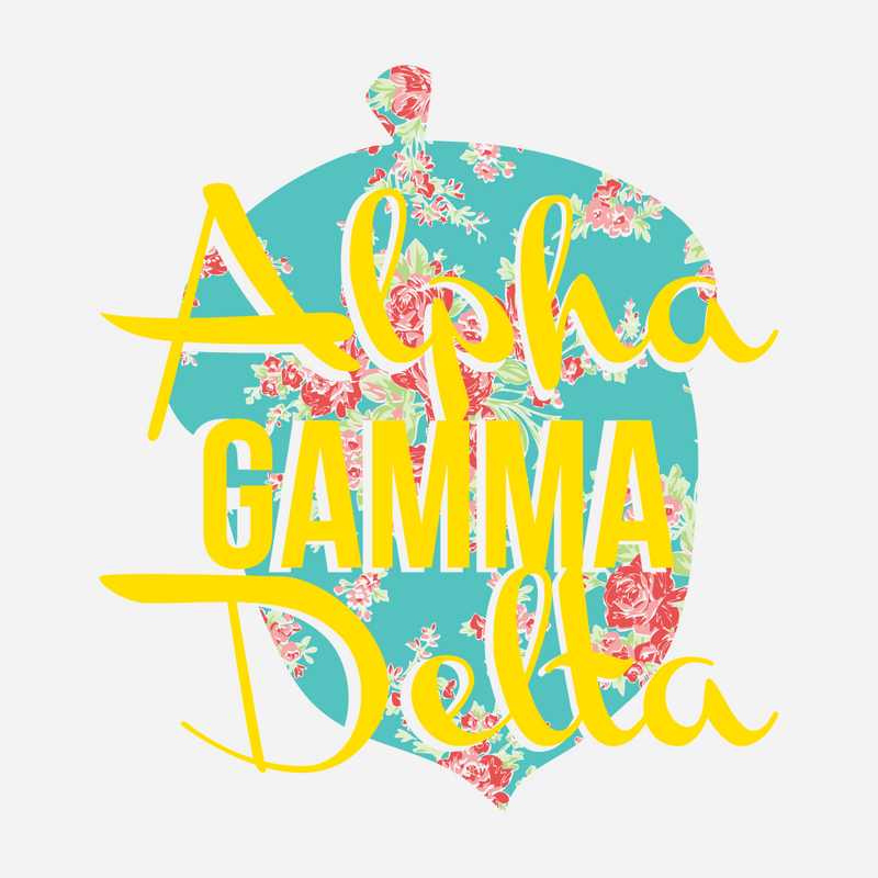 Alpha Gamma Delta Bid Day Design