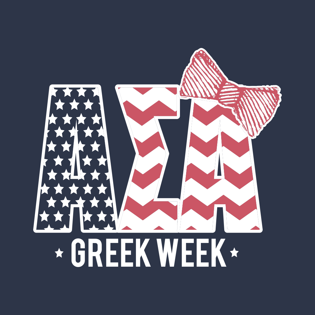 Alpha Sigma Alpha Greek Week Design