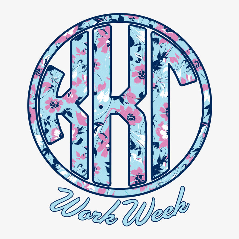 Kappa Kappa Gamma Work Week Design