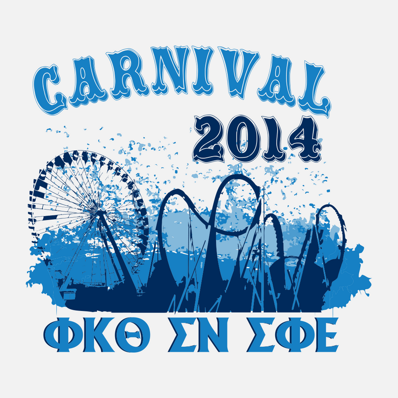 Tri Fraternity Carnival Date Night Design