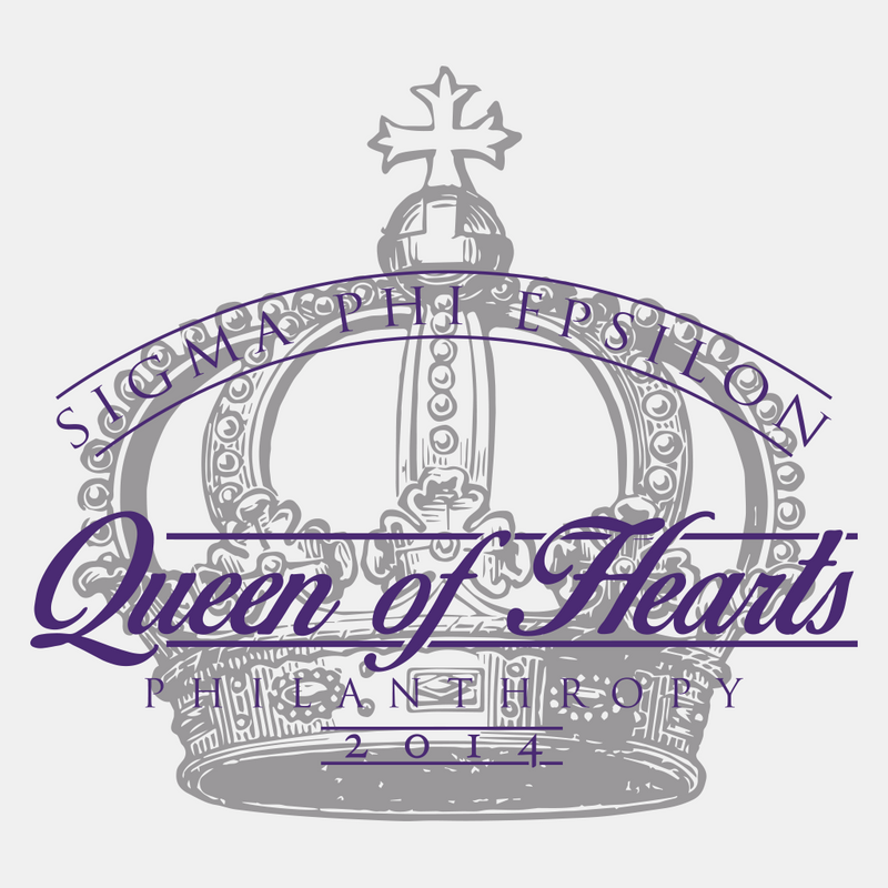 Sigma Phi Epsilon Queen of Hearts Design