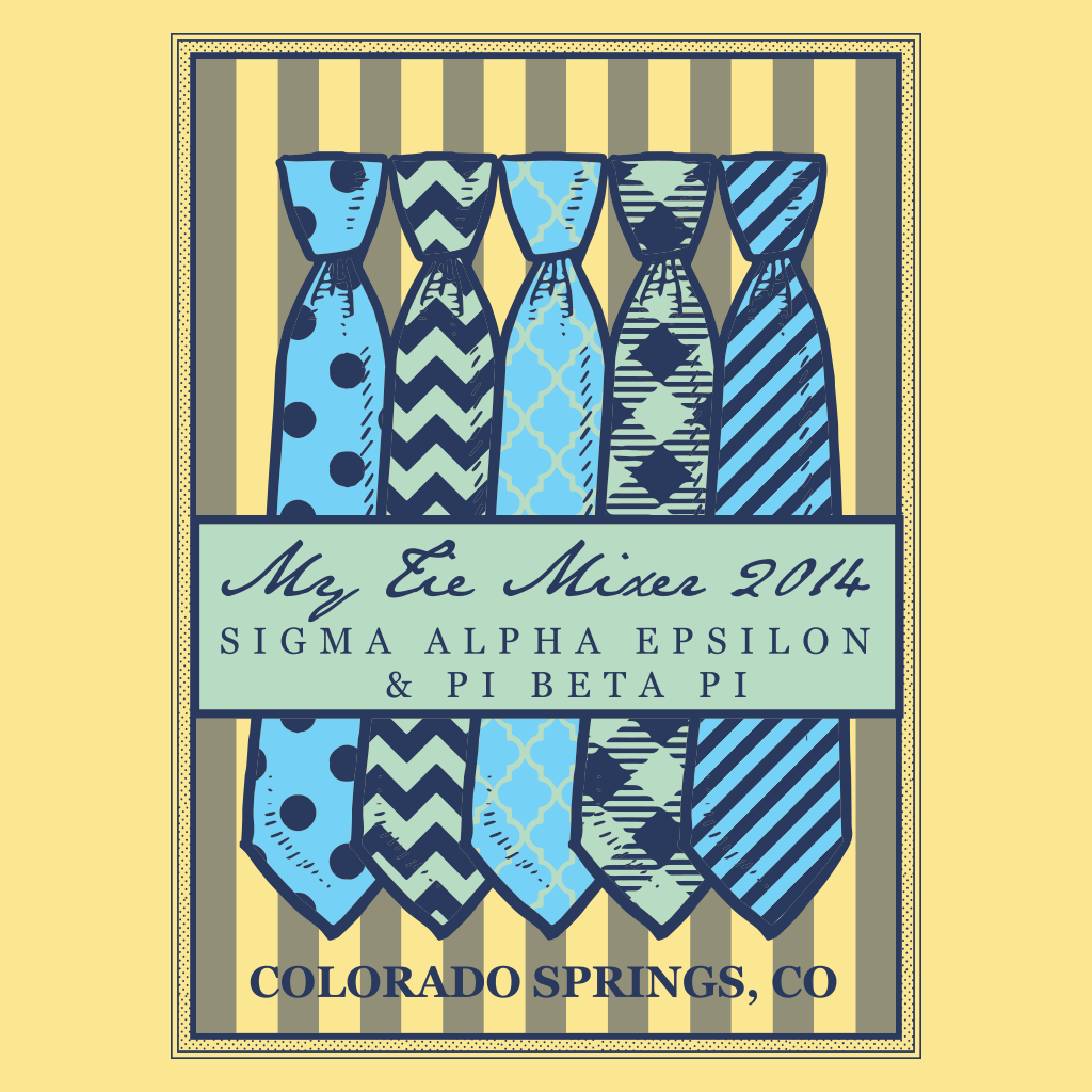 Sigma Alpha Epsilon Spring Formal Design