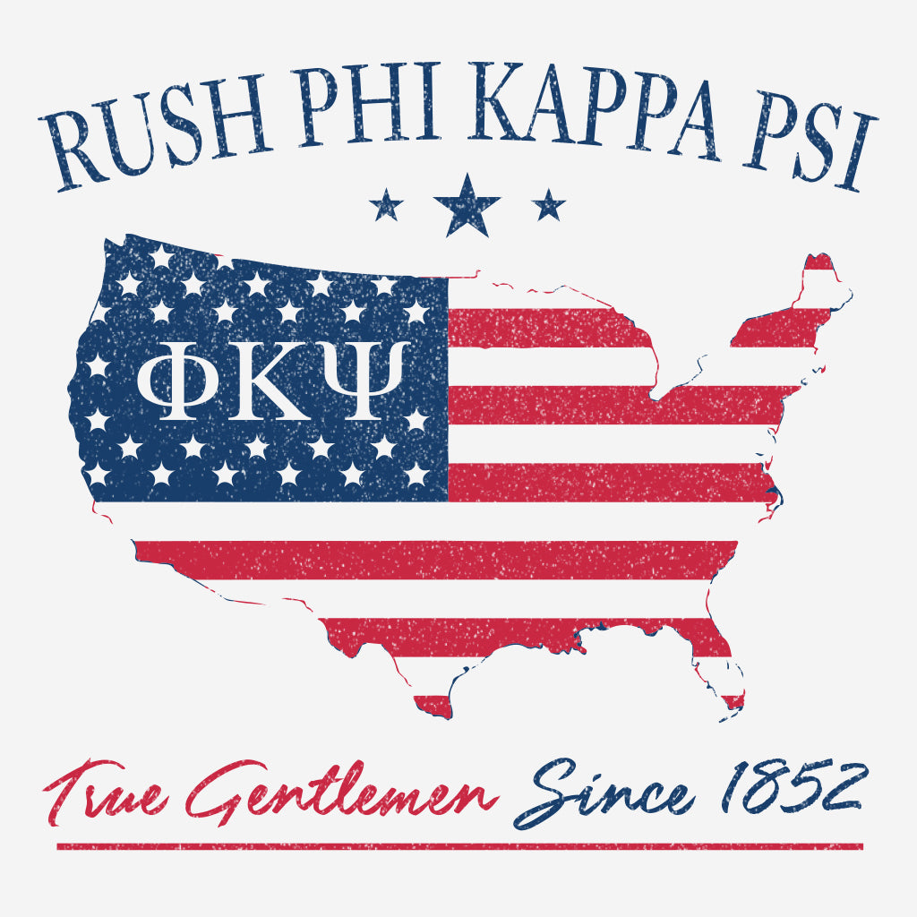 Phi Kappa Psi Patriotic Rush Design
