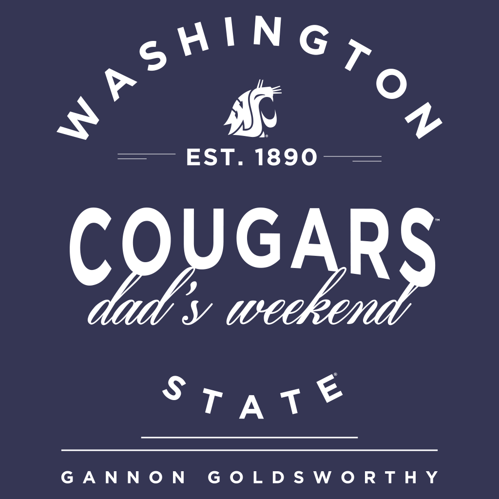 Washington State Dad's Weekend Design