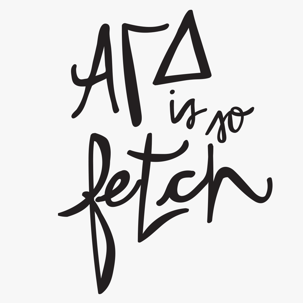 Alpha Gamma Delta Fetch Design