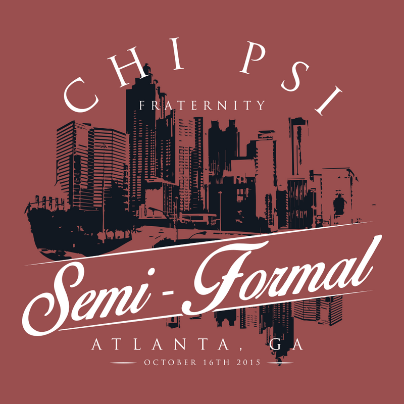 Chi Psi Semi Formal Design