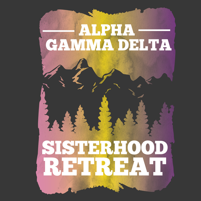 Alpha Gamma Delta Sisterhood Retreat Design