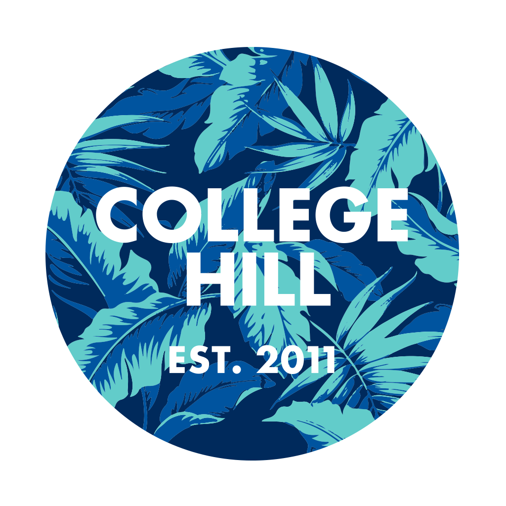 College Hill Tropical Badge Design