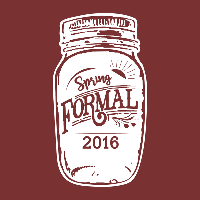 Alpha Omicron Pi Spring Formal Design