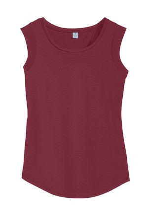 Alternative® Cap Sleeve Satin Jersey Crew T-Shirt  AA4013 (Available in 7 colors)