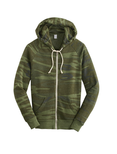 Alternative Apparel Adrian Eco-Fleece Zip Hoodie