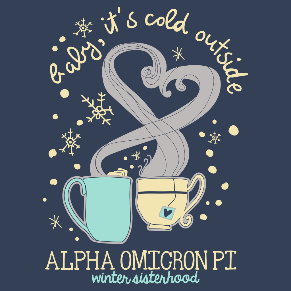 Alpha Omicron Pi Winter Sisterhood