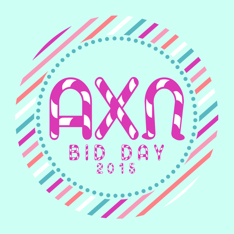 Alpha Chi Omega Candy Bid Day