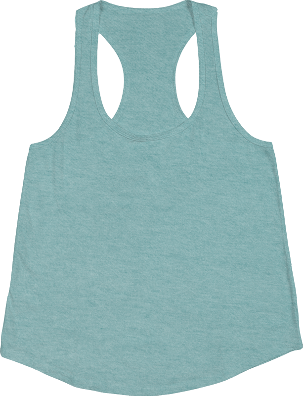 American Apparel TR308 Ladies Tri-Blend Racerback Tank Top (Available in 10 colors)